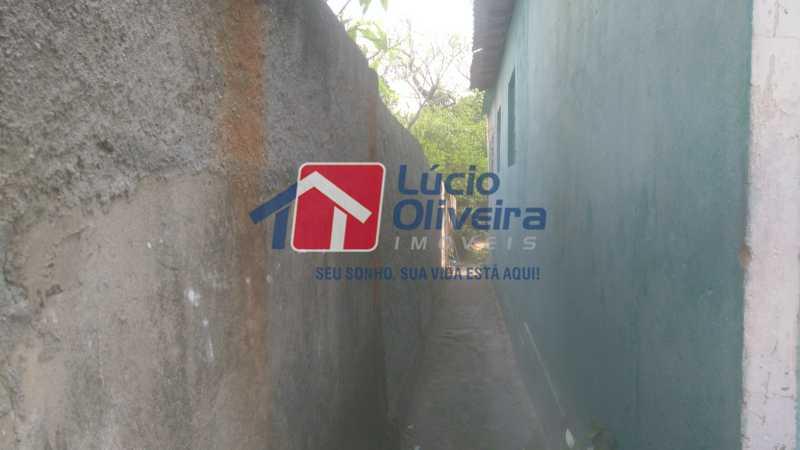 20 Lateral da casa - Casa À Venda - Vaz Lobo - Rio de Janeiro - RJ - VPCA30161 - 22