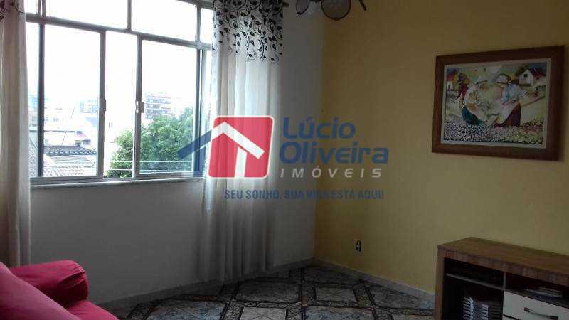 2- Sala - Apartamento à venda Rua da Inspiração,Vila da Penha, Rio de Janeiro - R$ 250.000 - VPAP21191 - 3