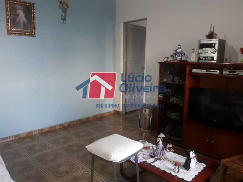 01- Sala. - Casa de Vila À Venda - Irajá - Rio de Janeiro - RJ - VPCV20046 - 1