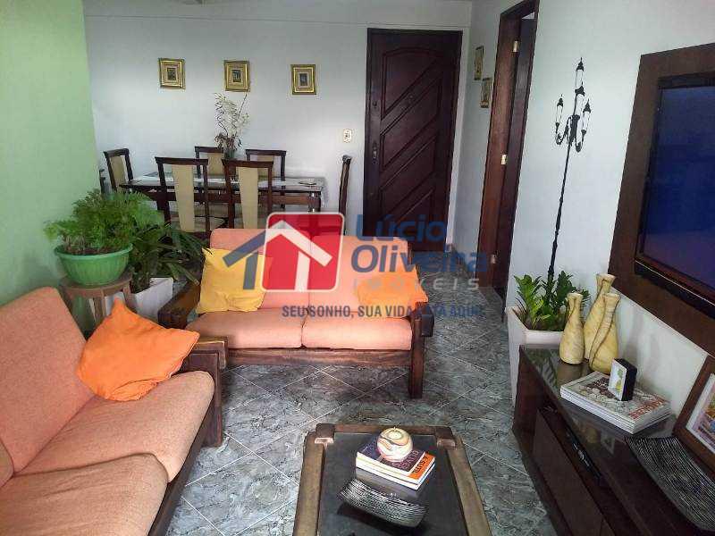 2-Sala 2 ambientes - Apartamento À Venda - Rocha Miranda - Rio de Janeiro - RJ - VPAP21193 - 1
