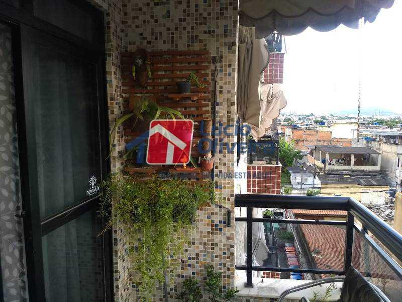 6-Varandão - Apartamento À Venda - Rocha Miranda - Rio de Janeiro - RJ - VPAP21193 - 6