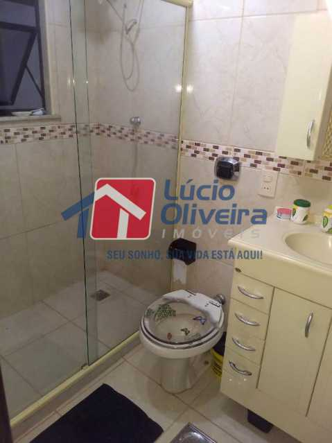17-Banheiro social - Apartamento À Venda - Rocha Miranda - Rio de Janeiro - RJ - VPAP21193 - 18