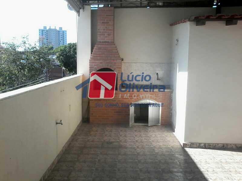 15 CHURRASQUEIRA - Casa 3 quartos à venda Vista Alegre, Rio de Janeiro - R$ 420.000 - VPCA30163 - 17
