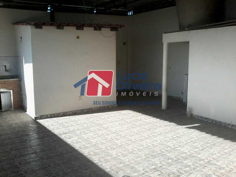 16 TERRAÇO - Casa 3 quartos à venda Vista Alegre, Rio de Janeiro - R$ 420.000 - VPCA30163 - 18