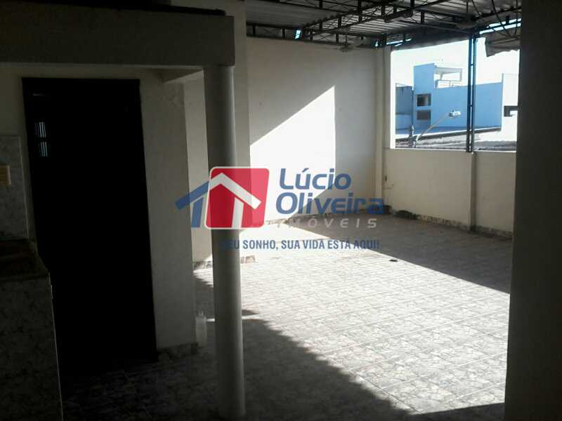 17 TERRAÇO - Casa 3 quartos à venda Vista Alegre, Rio de Janeiro - R$ 420.000 - VPCA30163 - 19