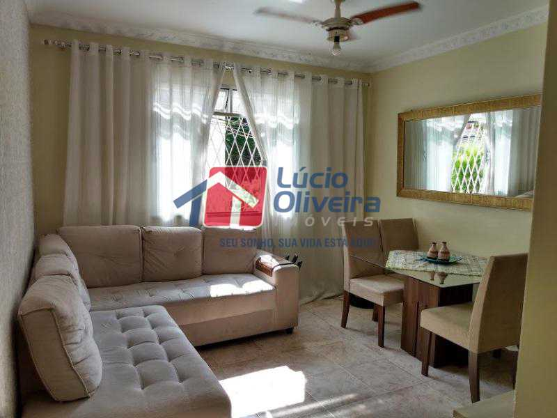 1-Salão - Apartamento Tomás Coelho, Rio de Janeiro, RJ À Venda, 2 Quartos, 51m² - VPAP21195 - 1