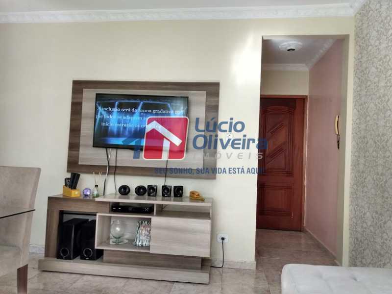 2-Sala e entrada serviço - Apartamento Tomás Coelho, Rio de Janeiro, RJ À Venda, 2 Quartos, 51m² - VPAP21195 - 3