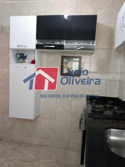 12-Cozinha... - Apartamento Tomás Coelho, Rio de Janeiro, RJ À Venda, 2 Quartos, 51m² - VPAP21195 - 13
