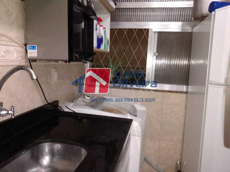 14-Area serviço - Apartamento Tomás Coelho, Rio de Janeiro, RJ À Venda, 2 Quartos, 51m² - VPAP21195 - 15