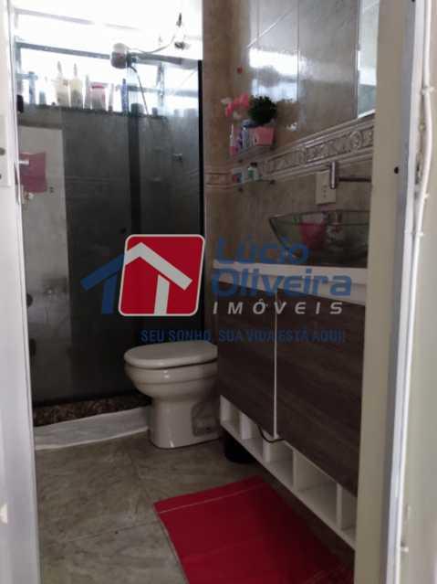 15-Banheiro armarios blindex - Apartamento Tomás Coelho, Rio de Janeiro, RJ À Venda, 2 Quartos, 51m² - VPAP21195 - 16