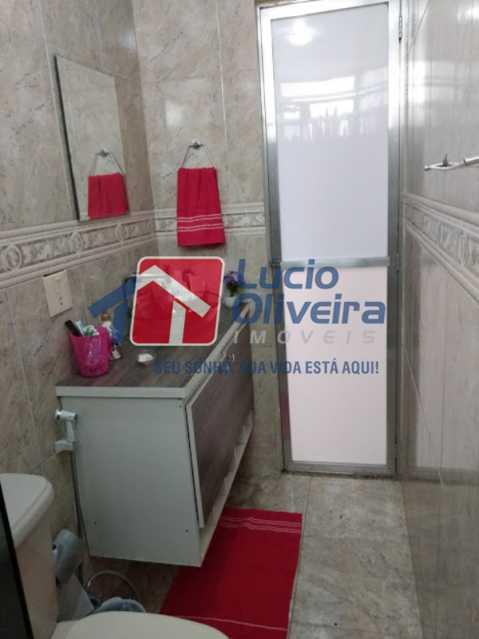 17-Banheiro social - Apartamento Tomás Coelho, Rio de Janeiro, RJ À Venda, 2 Quartos, 51m² - VPAP21195 - 18