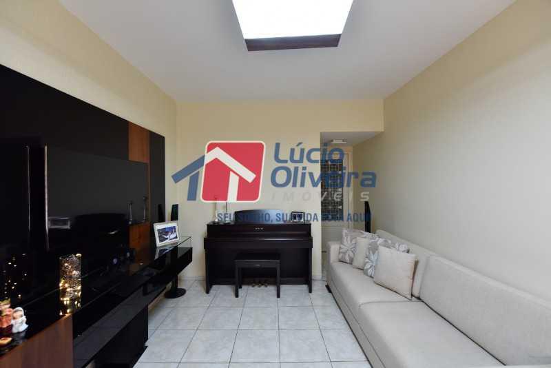 4 sala. - Apartamento À Venda - Vila da Penha - Rio de Janeiro - RJ - VPAP21197 - 5
