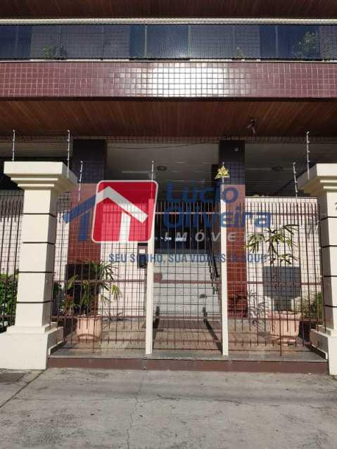 1-Portaria predio - Apartamento À Venda - Vila da Penha - Rio de Janeiro - RJ - VPAP21198 - 1