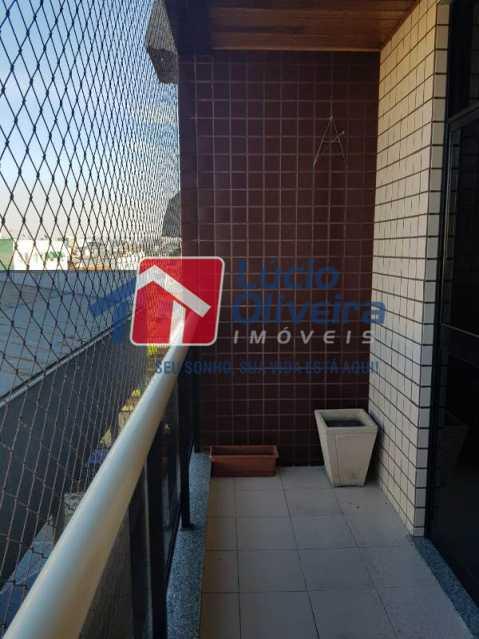 6-Varanda - Apartamento À Venda - Vila da Penha - Rio de Janeiro - RJ - VPAP21198 - 7