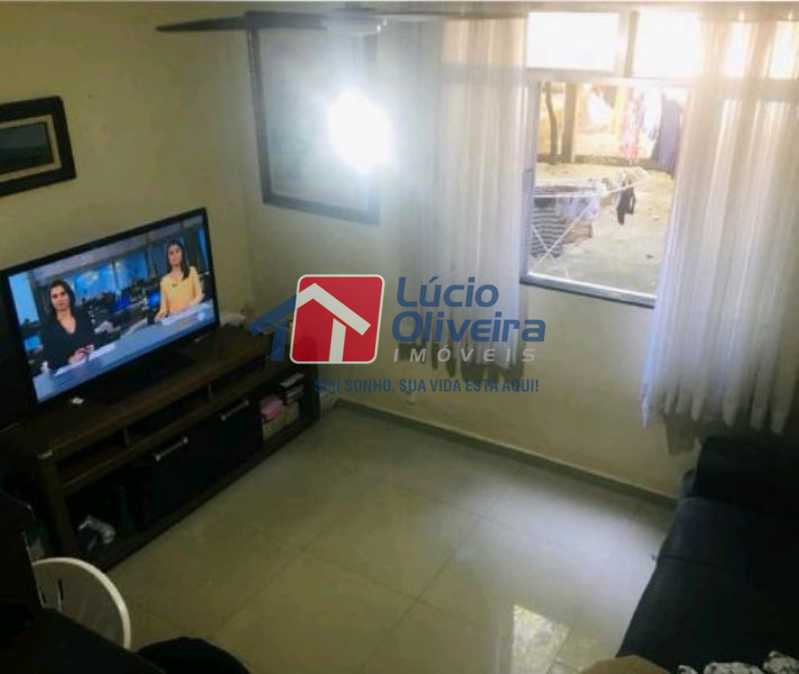 1-Sala decorada - Apartamento Rua Soldado Ivo de Oliveira,Vila da Penha, Rio de Janeiro, RJ À Venda, 2 Quartos, 50m² - VPAP21200 - 1