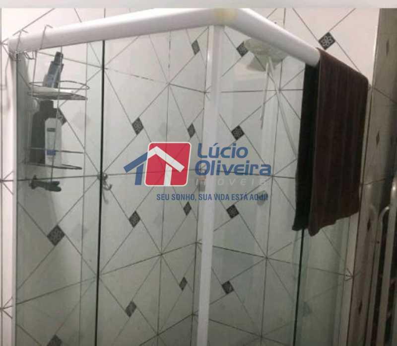 13-Banheiro social blindex - Apartamento Rua Soldado Ivo de Oliveira,Vila da Penha, Rio de Janeiro, RJ À Venda, 2 Quartos, 50m² - VPAP21200 - 15