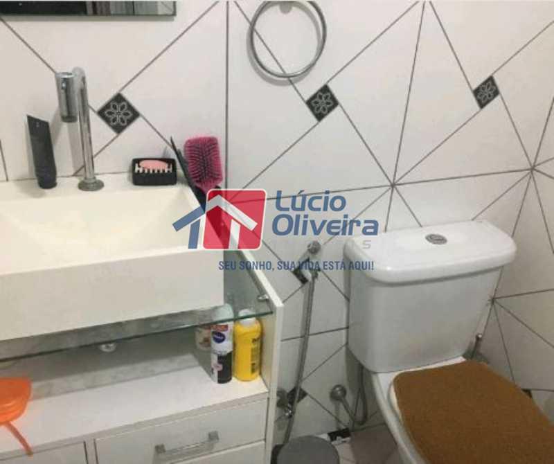 14-Banheiro Social - Apartamento Rua Soldado Ivo de Oliveira,Vila da Penha, Rio de Janeiro, RJ À Venda, 2 Quartos, 50m² - VPAP21200 - 16