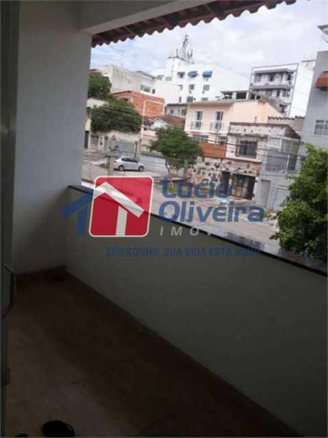15 varanda - Casa à venda Rua Engenheiro Pinho de Magalhães,Vila da Penha, Rio de Janeiro - R$ 1.100.000 - VPCA50021 - 16