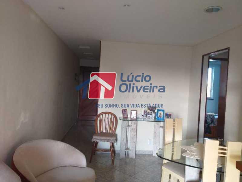 01- Sala - Apartamento À Venda - Vila da Penha - Rio de Janeiro - RJ - VPAP21206 - 1