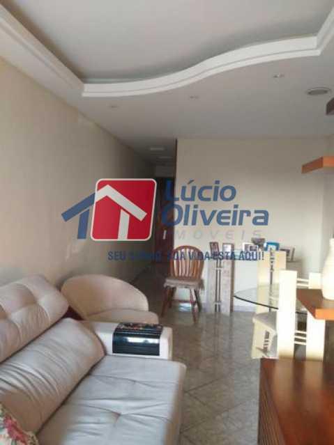 02- Sala - Apartamento À Venda - Vila da Penha - Rio de Janeiro - RJ - VPAP21206 - 3