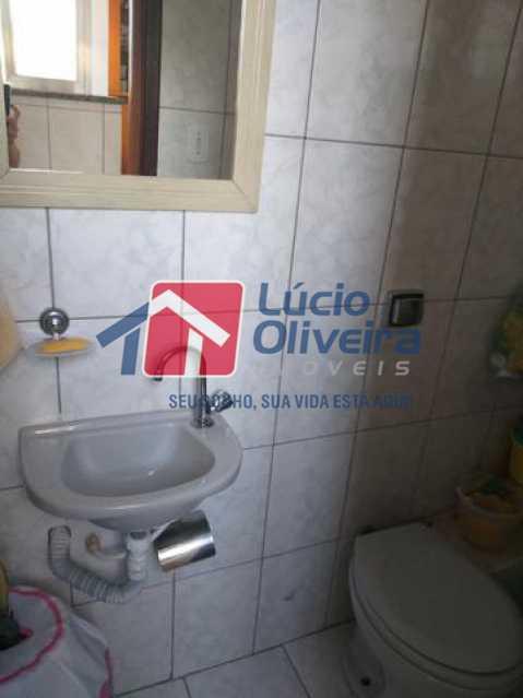 12- Banheiro Em pregada - Apartamento À Venda - Vila da Penha - Rio de Janeiro - RJ - VPAP21206 - 13