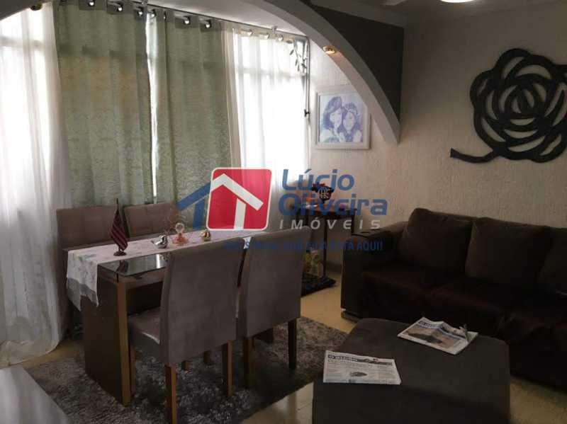 01- Sala - Apartamento à venda Rua Santa Camila Pia,Penha, Rio de Janeiro - R$ 300.000 - VPAP30289 - 1