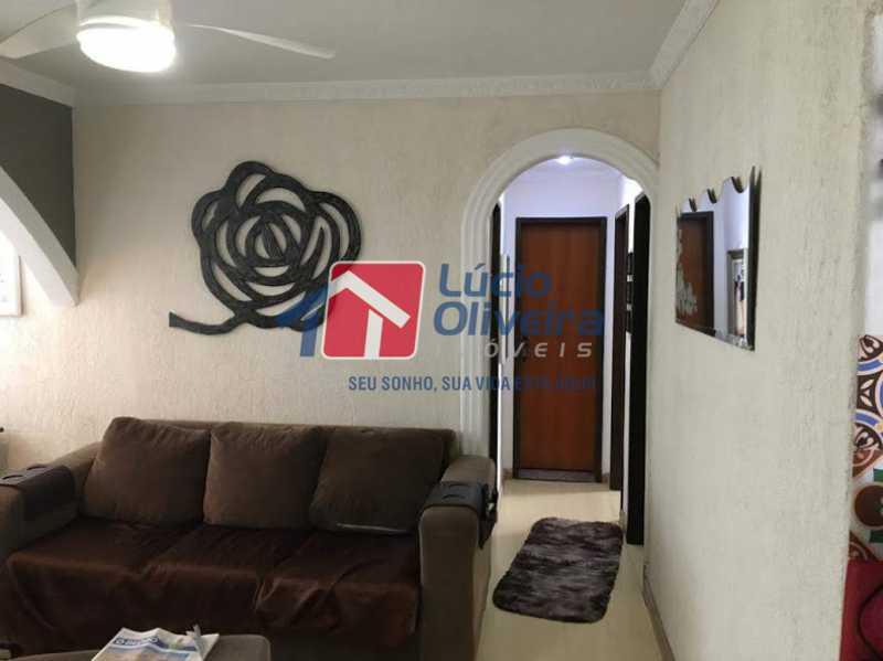 02- Sala - Apartamento à venda Rua Santa Camila Pia,Penha, Rio de Janeiro - R$ 300.000 - VPAP30289 - 3