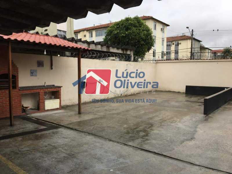 18- Churrasqueira - Apartamento à venda Rua Santa Camila Pia,Penha, Rio de Janeiro - R$ 300.000 - VPAP30289 - 19