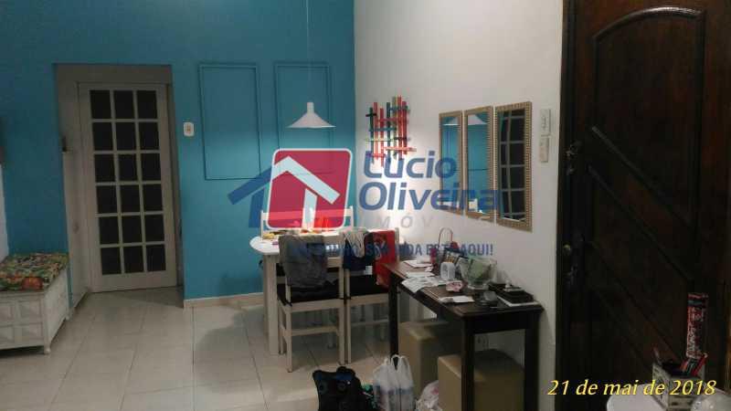 1 SALA - Apartamento Rua Aurora,Penha, Rio de Janeiro, RJ À Venda, 2 Quartos, 55m² - VPAP21211 - 1