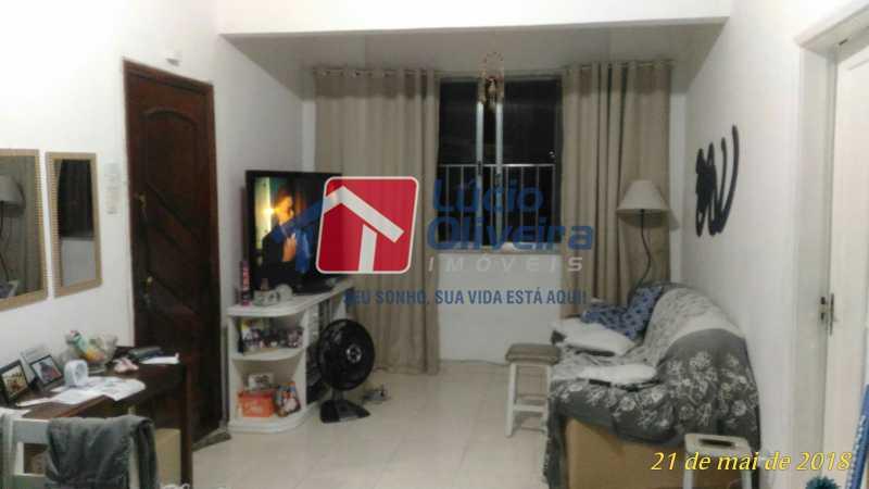 2 SALA - Apartamento Rua Aurora,Penha, Rio de Janeiro, RJ À Venda, 2 Quartos, 55m² - VPAP21211 - 3