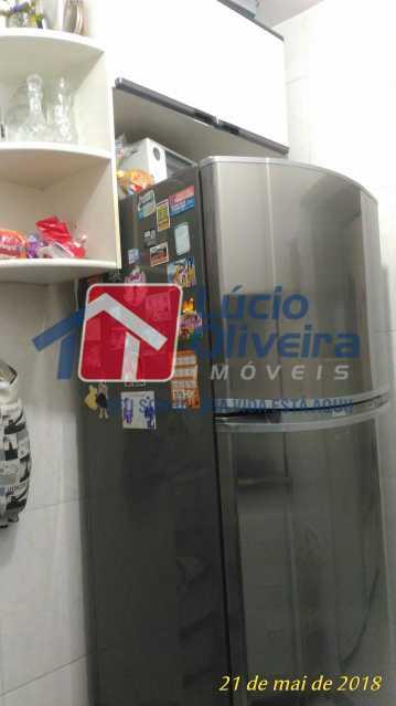 7 COZINHA - Apartamento Rua Aurora,Penha, Rio de Janeiro, RJ À Venda, 2 Quartos, 55m² - VPAP21211 - 8