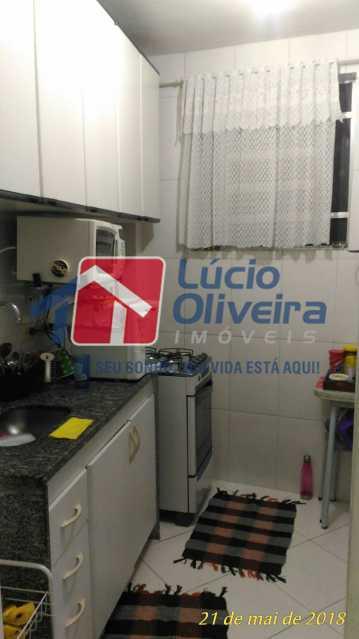8 COZINHA - Apartamento Rua Aurora,Penha, Rio de Janeiro, RJ À Venda, 2 Quartos, 55m² - VPAP21211 - 9