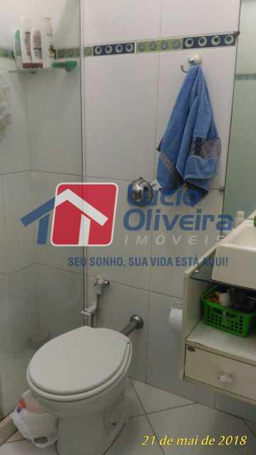 10 BANHEIRO - Apartamento Rua Aurora,Penha, Rio de Janeiro, RJ À Venda, 2 Quartos, 55m² - VPAP21211 - 11