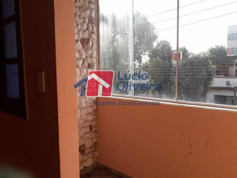 2 varanda - Apartamento à venda Rua Pereira Landim,Ramos, Rio de Janeiro - R$ 210.000 - VPAP21214 - 3