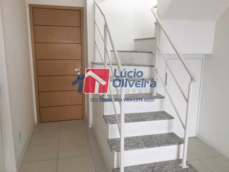 13 escada. - Apartamento Avenida Oliveira Belo,Vila da Penha,Rio de Janeiro,RJ À Venda,3 Quartos,173m² - VPAP30291 - 14