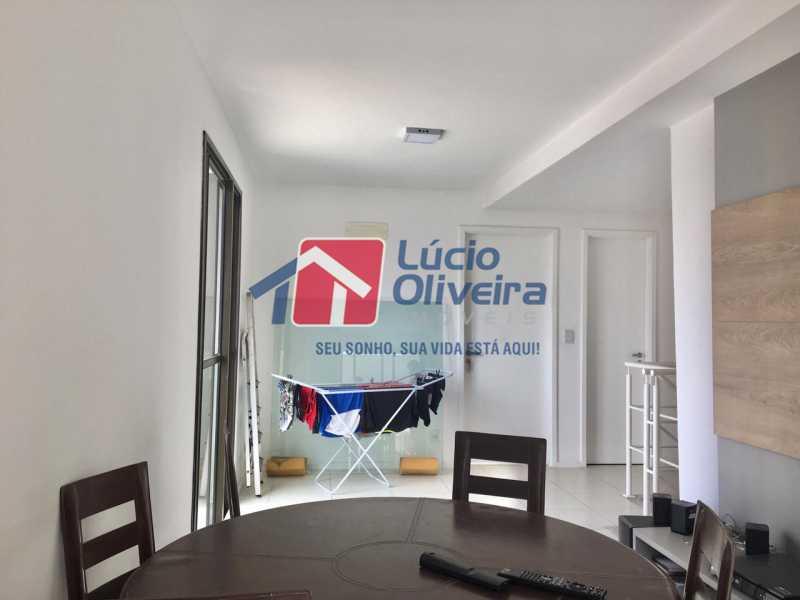 17 sala de estar. - Apartamento Avenida Oliveira Belo,Vila da Penha,Rio de Janeiro,RJ À Venda,3 Quartos,173m² - VPAP30291 - 18
