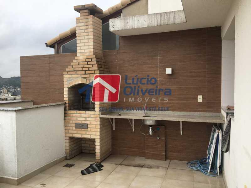 19 area gourmet. - Apartamento Avenida Oliveira Belo,Vila da Penha,Rio de Janeiro,RJ À Venda,3 Quartos,173m² - VPAP30291 - 20