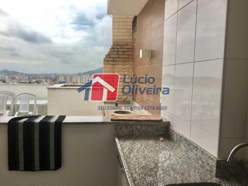 23 piscina cobertura. - Apartamento Avenida Oliveira Belo,Vila da Penha,Rio de Janeiro,RJ À Venda,3 Quartos,173m² - VPAP30291 - 24