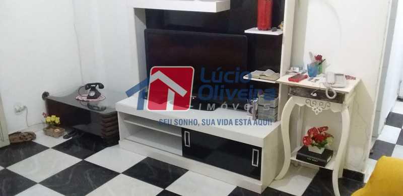 01 - Sala - Apartamento Avenida dos Italianos,Rocha Miranda, Rio de Janeiro, RJ À Venda, 2 Quartos, 48m² - VPAP21217 - 1