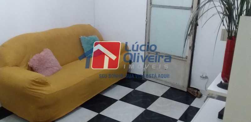 02 - Sala - Apartamento Avenida dos Italianos,Rocha Miranda, Rio de Janeiro, RJ À Venda, 2 Quartos, 48m² - VPAP21217 - 3