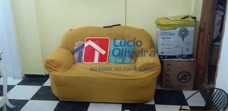 03 - Sala - Apartamento Avenida dos Italianos,Rocha Miranda, Rio de Janeiro, RJ À Venda, 2 Quartos, 48m² - VPAP21217 - 4