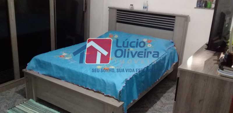 04 - Quarto Casal - Apartamento Avenida dos Italianos,Rocha Miranda, Rio de Janeiro, RJ À Venda, 2 Quartos, 48m² - VPAP21217 - 5