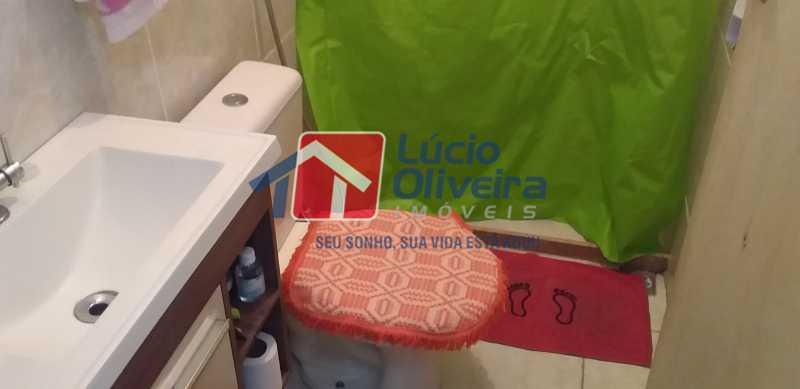 14 - Banheiro Social - Apartamento Avenida dos Italianos,Rocha Miranda, Rio de Janeiro, RJ À Venda, 2 Quartos, 48m² - VPAP21217 - 15