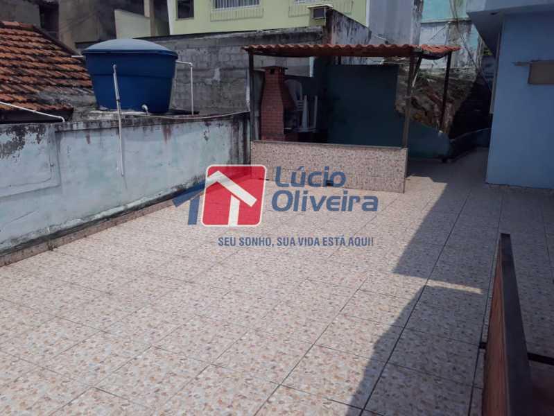 17 ÁREA EXTERNA. - Casa à venda Rua Angicos,Braz de Pina, Rio de Janeiro - R$ 780.000 - VPCA30165 - 18