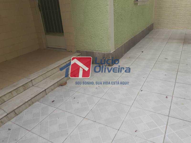 21-Area externa frontal - Casa 2 quartos à venda Braz de Pina, Rio de Janeiro - R$ 210.000 - VPCA20240 - 20