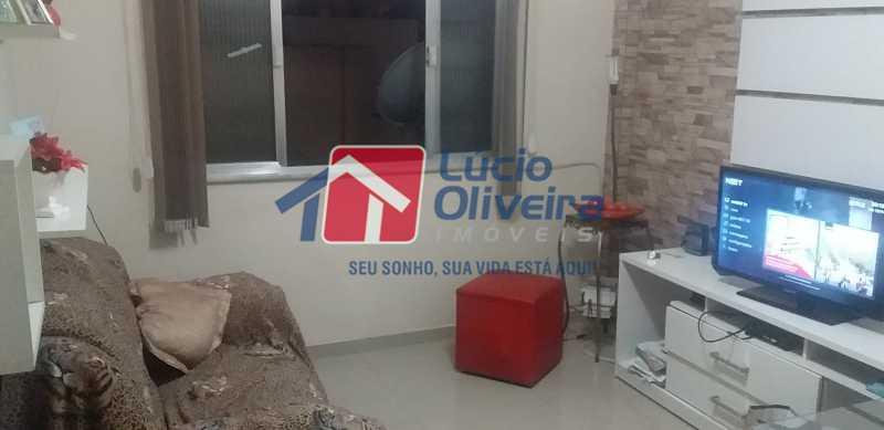 01 - Sala - Apartamento Estrada Adhemar Bebiano,Engenho da Rainha, Rio de Janeiro, RJ À Venda, 2 Quartos, 46m² - VPAP21221 - 1