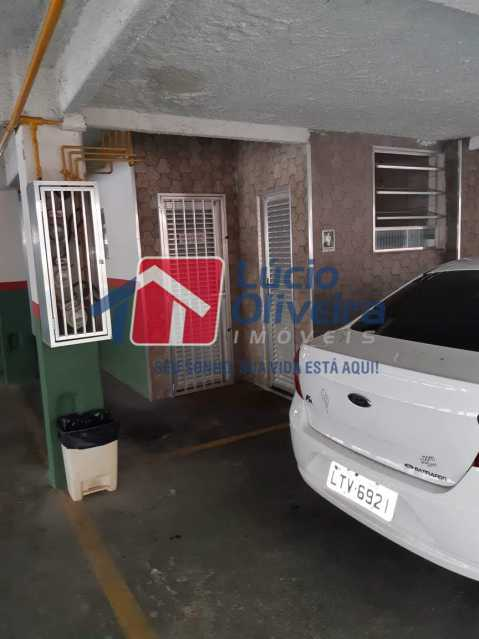 13 garagem. - Apartamento Rocha Miranda, Rio de Janeiro, RJ À Venda, 2 Quartos, 85m² - VPAP21225 - 14