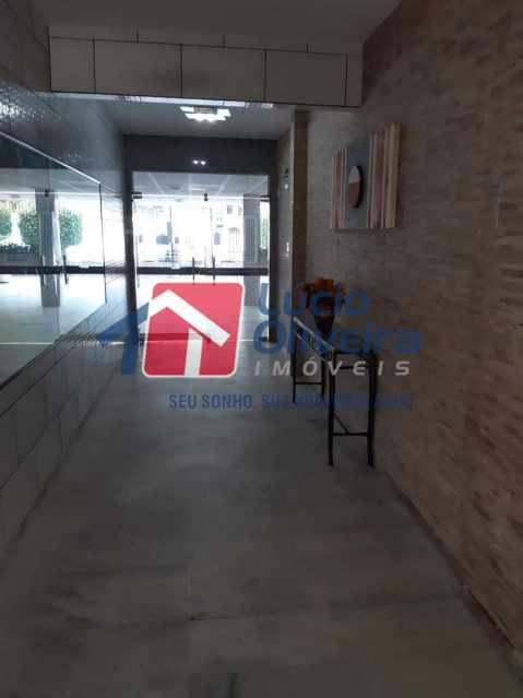 14 recepção. - Apartamento Rocha Miranda, Rio de Janeiro, RJ À Venda, 2 Quartos, 85m² - VPAP21225 - 15
