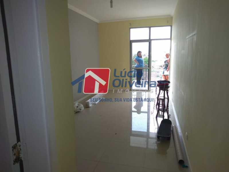 1- Sala - Apartamento Rua Doutor Miguel Vieira Ferreira,Ramos, Rio de Janeiro, RJ À Venda, 2 Quartos, 76m² - VPAP21228 - 1