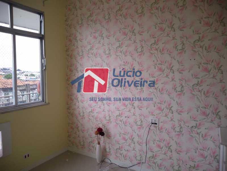 6- Quarto - Apartamento Rua Doutor Miguel Vieira Ferreira,Ramos, Rio de Janeiro, RJ À Venda, 2 Quartos, 76m² - VPAP21228 - 6